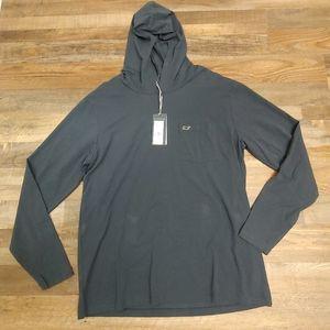 Long sleeve Edgartown Vineyard Vines hooded shirt